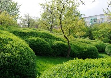 Vladimír Sitta: (NEJEN) O ČESKÉ ZAHRADĚ - Best Private Plots, 1. cena: Mann Landschaftsarchitekten, Německo, Garden Labyrinth