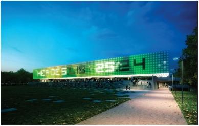 Architektonická soutěž na Centrum halových sportů - 3. místo