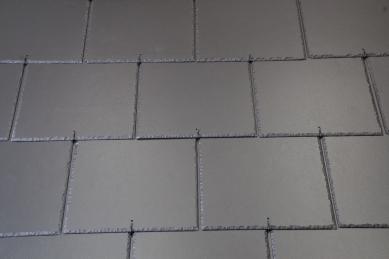 Střecha jako z břidlice - Dolmen Betternit grafitová