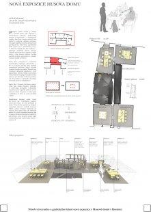 Husův dům v Kostnici - výběr neoceněných projektů - Návrh č. 10