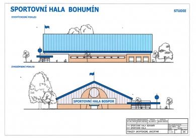 Bohumín postaví novou sportovní halu za 70 milionů
