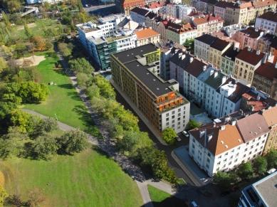 U vrchu Vítkov postaví developer 70 bytů, Praha 3 ho kritizovala
