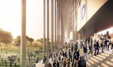 V Bordeaux se začal stavět fotbalový stadion od H&deM