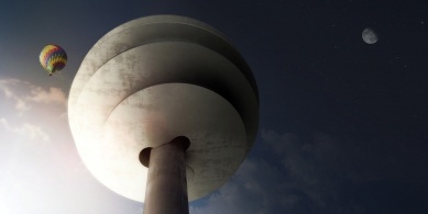 Projekt vyhlídkové věže v Phoenixu od BIG - foto: BIG