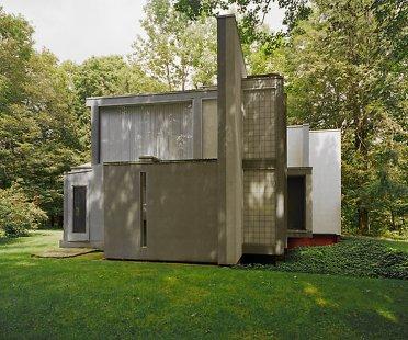 Slavné americké vily na prodej - Peter Eisenman: House VI, Cornwall (1975)