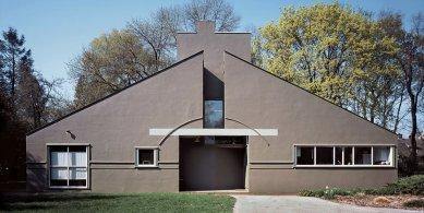 Slavné americké vily na prodej - Robert Venturi: Vanna Venturi House, Philadelphia (1964)