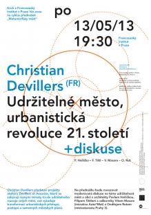 kruh jaro 2013: Christian Devillers - Udržitelné město