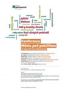 Město pod pokličkou - mezioborová konference o veřejných prostranstvích
