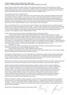 Otevřené prohlášení k veřejné architektonické soutěži o návrh SH BEČOV - PŘÍKLADNÁ OBNOVA HRADU, PŘILEHLÝCH OBJETKŮ A AREÁLU, Ú.O.P. LOKET