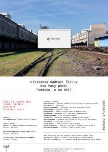 Nákladové nádraží Žižkov, dva roky poté - Památka. A co dál?