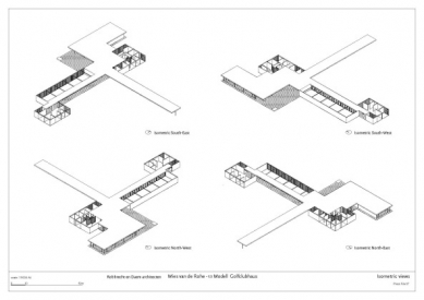 V Německu zhmotnili po 80 letech projekt Miese van der Roheho - foto: © Robbrecht en Daem architecten