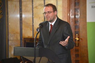 Cena Petra Parléře 2012 a 2013 - slavnostní udílení cen - Mgr. Jiří Škop, místostarosta města Police nad Metují
