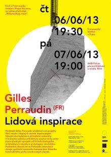 kruh jaro 2013: Gilles Perraudin - Lidová inspirace