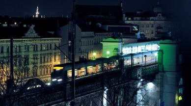 """Vídeň: Wagnerovo secesnímu """"metru"""" je již 115 let - Viadukt/most Gürtel (historická stavba) na trase metra U6 - foto: © Wiener Linien"""