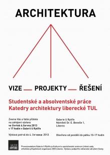 Architektura-vize, projekty, řešení z FUA TUL