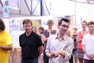 Ještěd f kleci 10 - slavnostní vyhlášení - Boris Redčenkov a Štěpán Valouch - foto: Martin Málek a Šimon Dušek