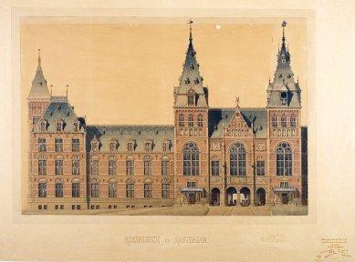 Hendrik P. Berlage: Vývoj moderního stavitelského umění v Nizozemí - Pierre Cuypers: Rijksmuseum Amsterdam (1876–1885)