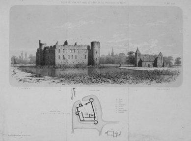 Hendrik P. Berlage: Vývoj moderního stavitelského umění v Nizozemí - Pierre Cuypers: Castle de Haar (přestavěn 1892–1907)