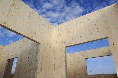 NOVATOP - lék na vady dřevostaveb - Jednoduchá a subtilní konstrukce stěn