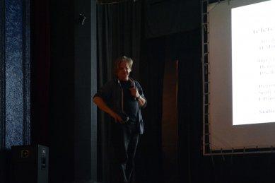 K přednášce Miroslava Šika v Českých Budějovicích - foto: Petr Šmídek, 2013