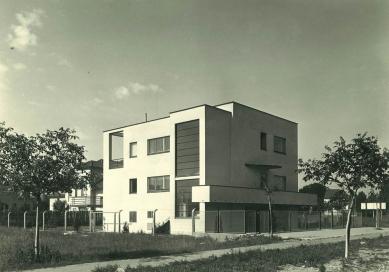 Odešel poslední Gočárův žák - Rodinný dům, Lázně Poděbrady (1939) - foto: archiv autora