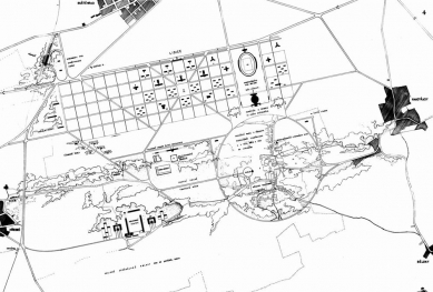 Odešel poslední Gočárův žák - Soutěžní návrh na Lidice (1946) - foto: archiv autora