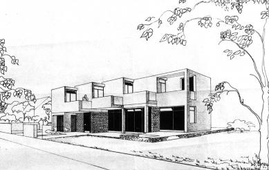 Odešel poslední Gočárův žák - Návrh na rodinný dům Ing. M. Hradeckého, Brandýs-St. Boleslav (1974) - foto: archiv autora