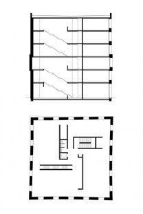 Administrativní budova v Lustenau od Baumschlager Eberle - Plány - foto: baumschlager eberle architekten