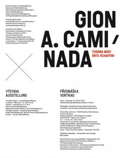 Gion A. Caminada: Tvorba míst - pozvánka na přednášku