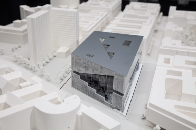 Nové sídlo nakladatelství Springer v Berlíně - vítězný projekt - foto: Proposal from OMA. Image Courtesy of Axel Springer SE