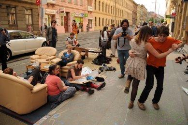 Týden města - pozvánka na happening - foto: Petr Král