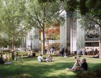 Projekt londýnského mrakodrapu South Quay Plaza od Normana Fostera - foto: Foster and Partners / Berkeley Property Developers