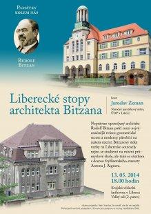 Jaroslav Zeman : Liberecké stopy architekta Bitzana