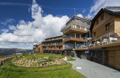 Biodesky používané v alpských hotelech