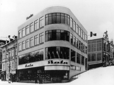 Obchodní dům Baťa v Mariánských Lázních asi bude zbourán - foto: http://www.drofa.com/architekt/pages/cz/verejna/obchodomy.html