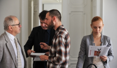 Postřehy z pracovní skupiny s Güntherem Vogtem a Ákosem Moravánszkym - foto: Foto pro o.s. Kruh, René Volfík