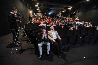 K pražské přednášce Günthera Vogta a Ákose Moravanszkyho - foto: Foto pro o.s. Kruh, René Volfík