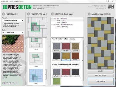 Komplexní knihovna PRESBETON pro Revit Architecture
