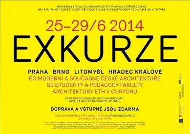 Exkurze s Kruhem po české moderní a současné architektuře