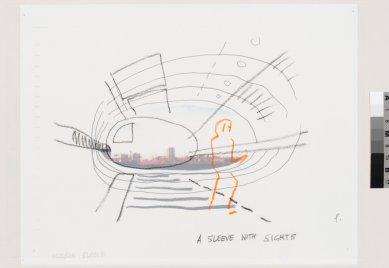 La Biennale di Venezia 2014 - ohlédnutí za jednotlivými pavilony - CH - Cedric Price: Hudson sleeve, 1999 - foto: Canadian Centre for Architecture, Montréal