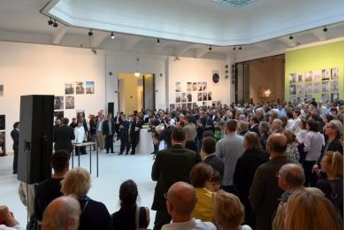 K výstavě Hanse Holleina v MAKu - foto: Petr Šmídek, 2014
