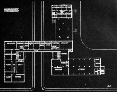Karel Teige: Novostavby Bauhausu v Dessavě  - Přízemí