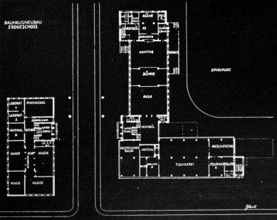 Karel Teige: Novostavby Bauhausu v Dessavě  - 1. patro