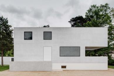 Znovuvybudování mistrovských domu pro učitele Bauhausu v Desavě - foto: Stiftung Bauhaus Dessau / Christoph Rokitta, Berlin
