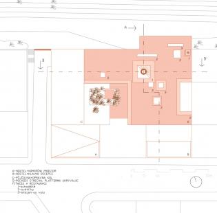 Ještěd f kleci 12 - vítězka - Tina Peterková - Výkres střechy