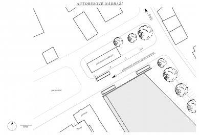 Ještěd f kleci 12 - nominace - Lenka Juchelková - Situace autobusového nádraží