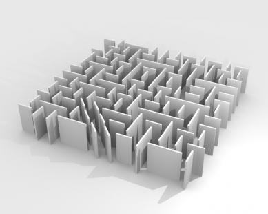 Ještěd f kleci 12 - nominace - PROSTOR S - Interaktivní labyrint - foto: Štěpán Mišurec, 1.ročník