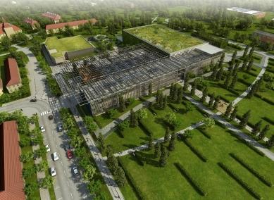 Superlaser ELI v Dolních Břežanech navrhovali Bogle Architects
