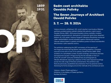 Výstava: Sedm cest architekta Osvalda Polívky (1859-1931)