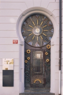 Výstava: Sedm cest architekta Osvalda Polívky (1859-1931) - Činžovní dům Haštalská 4, Praha, 1902